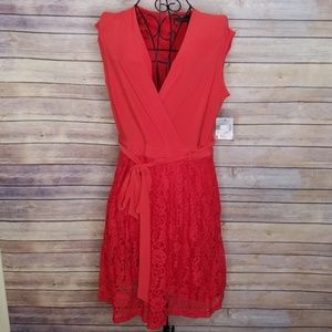 Taylor Dresses - NWT Taylor 10 red lace dress